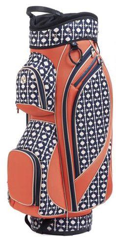 e12cd8364330 Hilton Head Spartina 449 Ladies Blue  amp  Orange Golf Cart Bag. Get this at