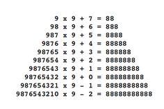 fathom-the-universe: number magic ; I Love Math, Fun Math, Math Games, Math Tumblr, Math Magic, Math Boards, Math Questions, E Mc2, Math Art