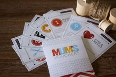 Mother's Day present with a difference. DIY Printable Vouchers / Coupon Booklet (Australian / British English version) as a unique gift for mum.