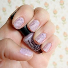 Learn to decorate your nails with paper! Newspaper, scrapbook paper, magazine..anything with this simple tutorial