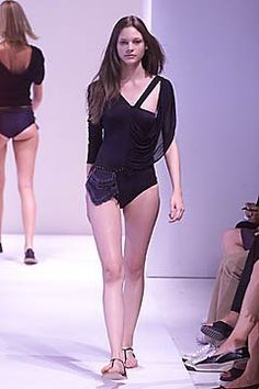 Callaghan Spring 2001 Ready-to-Wear Collection Photos - Vogue Fashion Show, Fashion Design, Modern Luxury, Ready To Wear, Nicolas Ghesquiere, Bodysuit, Vogue, Spring, Model