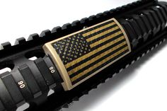 Not a morale patch, but it fits on your tactical rail. United States Flag, Shooter Skin Rail Cover $27.00