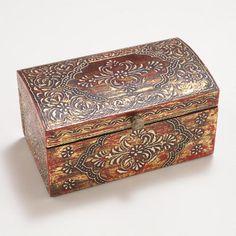 Lucia Handpainted Jewelry Box