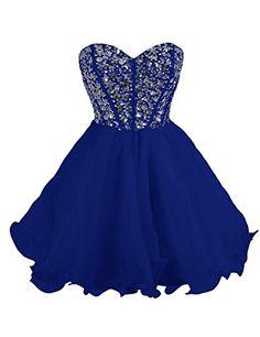 beaded homecoming dress royal blue