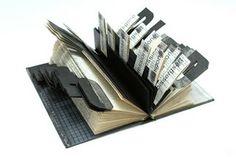 libri oggetto dai libri, installazioni ... paper art, book sculptures, altered books and ...
