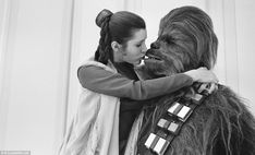 Empire Strikes Backstage: Intimate pictures of cast and crew during filming of second Star Wars movie