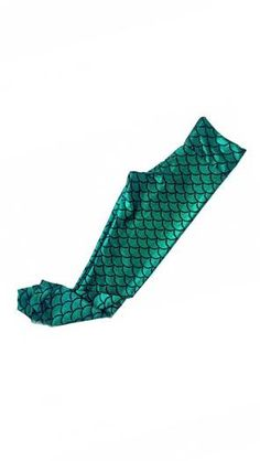 Emerald Mermaid Leggings- Adult