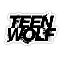 Teen Wolf stickers featuring millions of original designs created by independent artists. Teen Wolf Logo, Teen Wolf Mtv, Teen Wolf Memes, Teen Wolf Dylan, Tumblr Stickers, Cool Stickers, Printable Stickers, Laptop Stickers, Planner Stickers