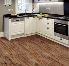 BuildDirect – Vinyl Planks - 3mm Click Lock Exclusive Woods Collection – Alder - Kitchen View