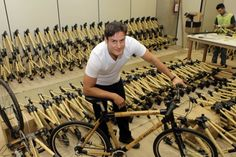 Fabrica de bicicletas de bambu