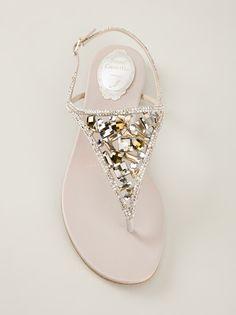 RENE CAOVILLA - embellished sandal 8