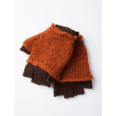 Wooden Ships Layered Fingerless Gloves - good colors