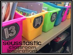 Daily 5 book tubs! This blog has everything you need to know about launching Daily 5 in your classroom!