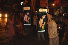 #btl activities #Outdooradvertising  #Mumbai #Jewellery #Promotion @globaladvt
