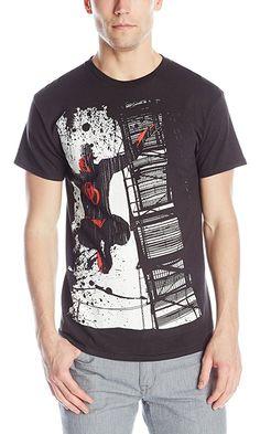 Marvel Men's Dare To Escape T-Shirt, Black, Small Best Price