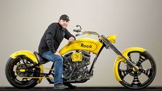 576d60c7a7 ROGO Chopper built by Paul Jr Designs for 25th anniversary of ROGO Fastener  Co. Will