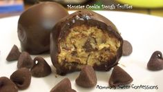 Monster Cookie Dough Truffles  Chocolate, Chocolate and more Chocolate shared