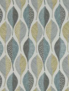 Upholstery Fabric Modern Blue Fabric by the by greenapplefabrics