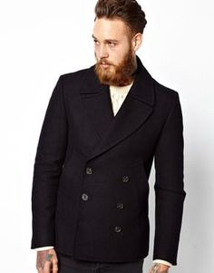 Asos black coat