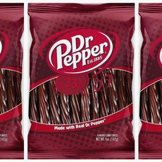It's made with actual Dr Pepper! Whole Food Recipes, Snack Recipes, Snacks, Taco Salad Doritos, Best Soda, Dr Pepper, Candy Shop, Creme Brulee, Stop Eating