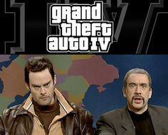 Grand Theft Auto IV SNL