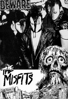 """Growing up """"punk"""" in the northeast meant I got to see these guys - The Misfits - a lot..."""