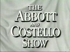 """The Abbott and Costello Show is an American television sitcom starring the popular comedy team of Bud Abbott and Lou Costello that premiered in syndication in the fall of 1952 and ran until May 1954. The series is regarded among the most influential comedy programs in history. In 1998 Entertainment Weekly praised the series as one of the """"100 Greatest TV Shows of All Time"""". In 2007, Time magazine selected it for its """"The 100 Best TV Shows of All-TIME."""""""