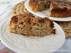Carrot cake coffee cake