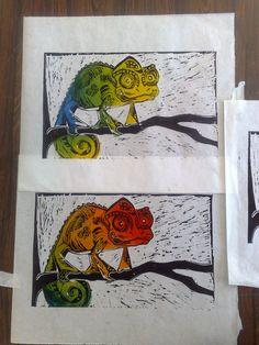 Africa series - Chameleon. Philipe Marchiolli