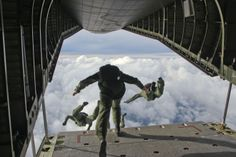 "Honorable Mention Military Life ""Into the Clouds"" SSG Sharilyn Wells Ft. Bragg, NC"