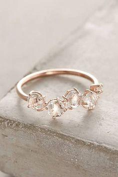 cool 14k Gold Gemstone Bar Ring...