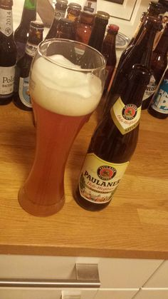 2014 Beer Advent Calendar - Day 1: Starting with a classic: perhaps my favourite weissbier - Paulaner Hefe #beeradventcalendar