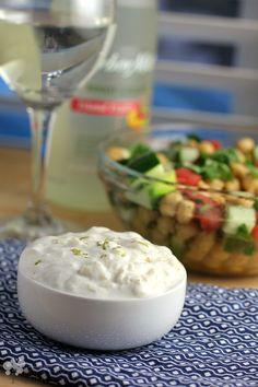 Jerk Chicken Skewers with Pineapple Yogurt Dip
