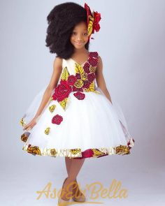"Amazing Kids Clothing By ""Ms Izella Kids Couture"" ⋆ Whp-Media Baby African Clothes, African Dresses For Kids, African Children, African Print Dresses, Little Girl Dresses, Girls Dresses, Dresses Dresses, African Fashion Ankara, Latest African Fashion Dresses"