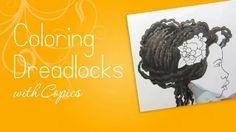 bloom girl hope drawing dreadlocks - YouTube