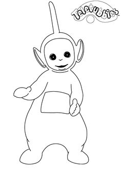 coloring page Teletubbies - Teletubbies