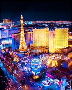 Las Vegas Strip - we flew down this at dusk in a helicopter (not my photo though as my camera broke!)