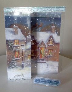Hunkydory Christmas Craftinator 2015 - Winter Wonderland