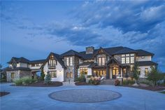 Our newest luxury house plan! Tudor home fit for a king! House plan#161-1077