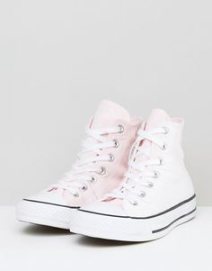 d73587dad2d5 Converse Chuck Taylor All Star Velvet Hi Top Sneakers In Pink