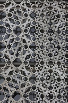 materials-texture/tactile In Progress: Doha Office Tower, Qatar, Ateliers Jean Nouvel / Nelson Garrido. Architecture Design, Islamic Architecture, Facade Design, Amazing Architecture, Landscape Architecture, Installation Architecture, Building Architecture, Chinese Architecture, Building Facade
