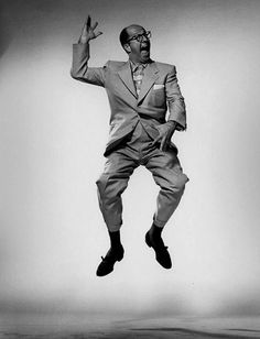 Phil Silvers by Philippe Halsman.  I wonder if he worked with Rosalind Russell, and if not, they should have worked together.
