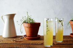 Vanilla Thyme lemonade recipe: Surprising fresh flavor. #food52