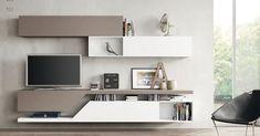 Obývací stěny s TV LCD - Moderní nábytek do obývacího pokoje http://JESPEN.cz