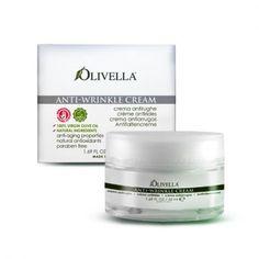 #Olivella Crema Viso Antirughe - Speciale formula viso naturale ricca di gemme di faggio ed acido ialuronico di origine biotecnologica che pur rispettando le pelli sensibili, combatte l'invecchiamento cutaneo