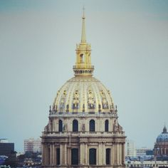 Les Invalides in #Paris. Photo courtesy of mybeautifulpari on Instagram.