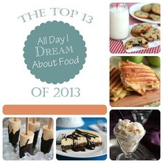 The Top 13 Low Carb, Gluten-Free Recipes of 2013 at alldayidreamaboutfood.com