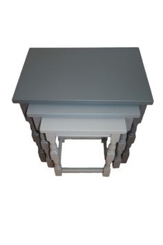 Nest of Tables (grey) by @Amoreena Hathaway Stuff