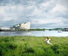 Amager Bakke waste-to-energy plant in Copenhagen. Image © BIG-Bjarke Ingels Group