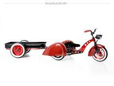Triciclo infantil de lujo. | Quiero más diseño